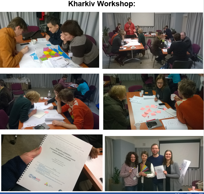 Kharkiv workshop photos
